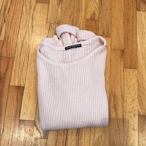 Blush brandy Melville Ollie sweater